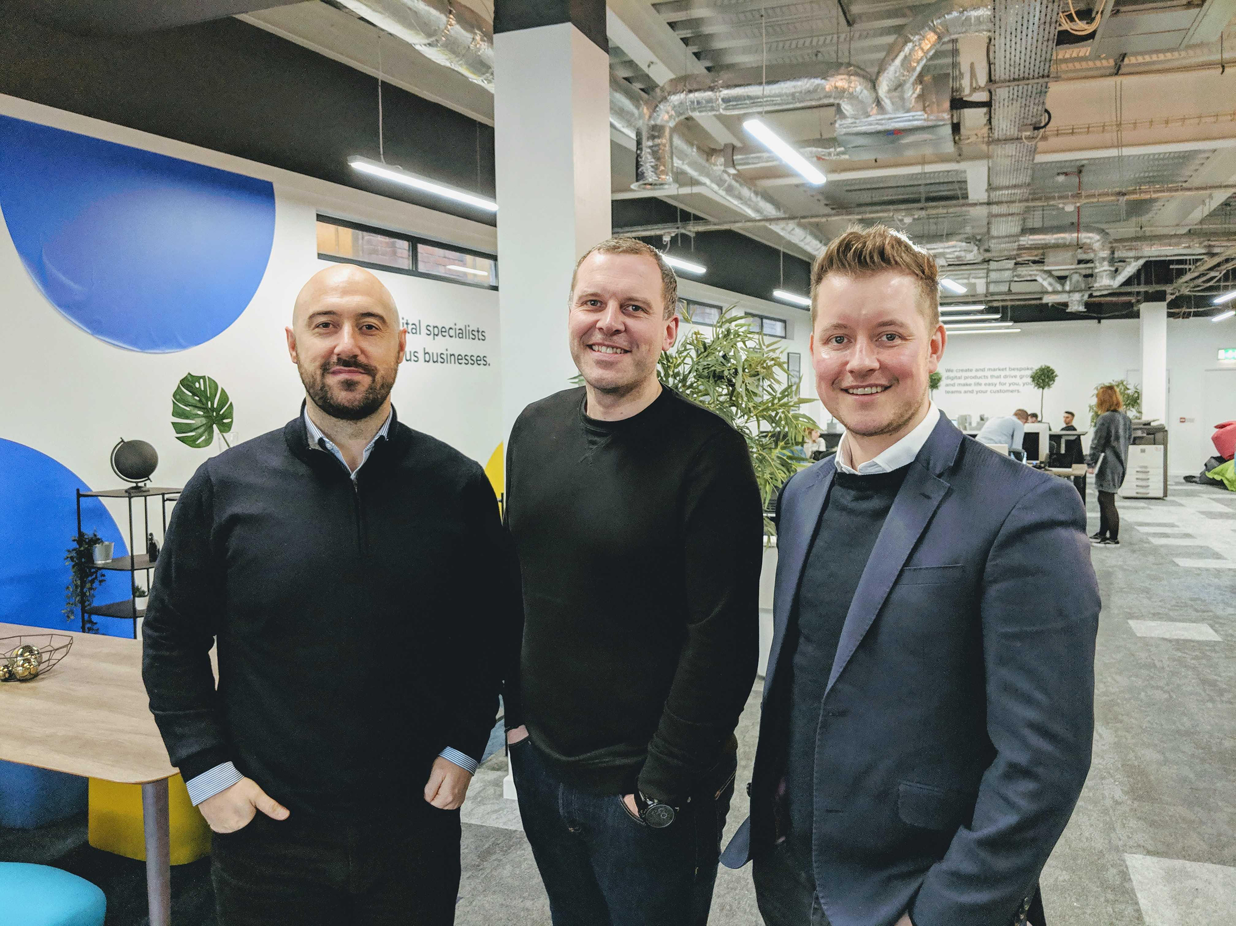 2019-04/1554303122_pj-ellis-anthony-bisseker-and-rob-pollard-of-lightbox-at-the-company-s-new-office